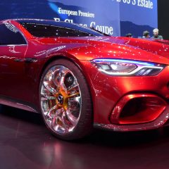 Expensive News – The Mercedes-AMG GT Concept: Affalterbach's four-door fastback packs 805 hybrid horsepower