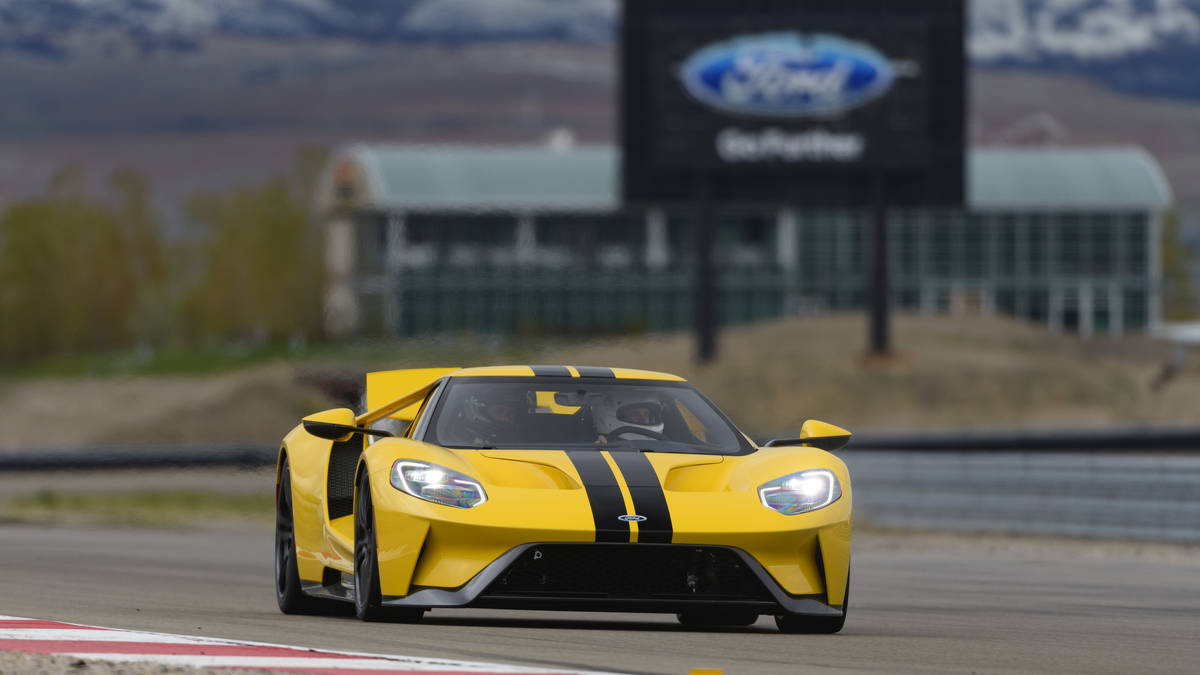 Expensive News  Ford Gt First Drive Hoo Baby