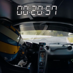 Expensive News – How fast can the road-legal McLaren P1 LM go around the 'Ring?