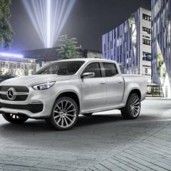 Expensive News – Mercedes-Benz X-Class pickup previewed ahead of global debut