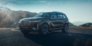 Expensive News – Official: BMW's three-row with Concept X7 iPerformance joins the full-size fray